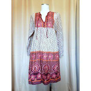 Moda International Boho Peasant Dress